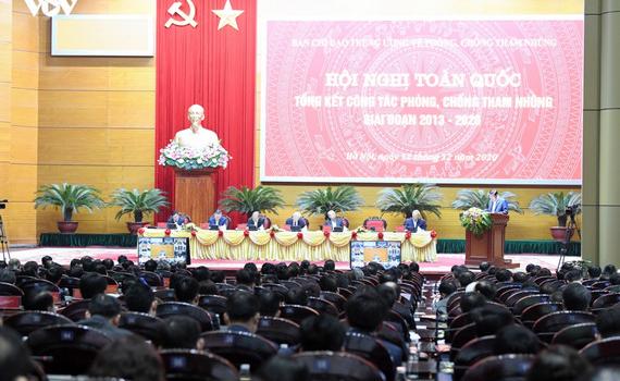 Hội nghị trực tuyến toàn quốc về phòng, chống tham nhũng