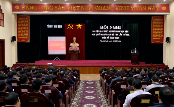 Quán triệt, triển khai thực hiện Nghị quyết Đại hội Đảng bộ tỉnh lần thứ XXII