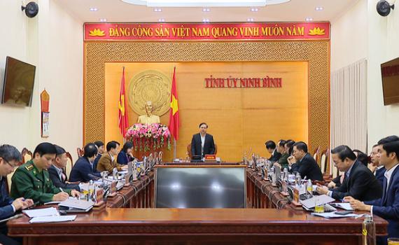 Thường trực Tỉnh ủy giao ban công tác tháng 11/2020
