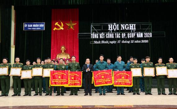 Tổng kết công tác quốc phòng, quân sự địa phương năm 2020