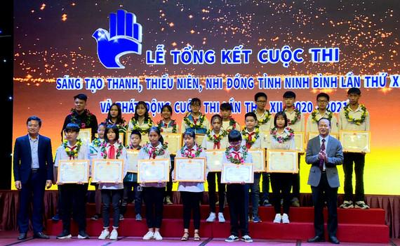 Tổng kết Cuộc thi sáng tạo thanh thiếu niên và nhi đồng tỉnh Ninh Bình lần thứ XI
