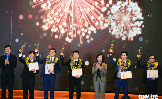 Trao giải Quả Cầu vàng cho 10 gương mặt trẻ xuất sắc trong lĩnh vực khoa học công nghệ