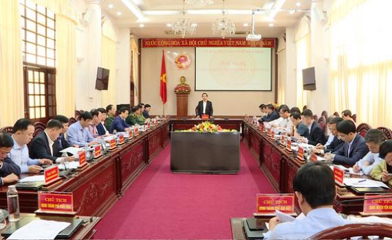 UBND tỉnh họp phiên thường kỳ tháng 12/2020