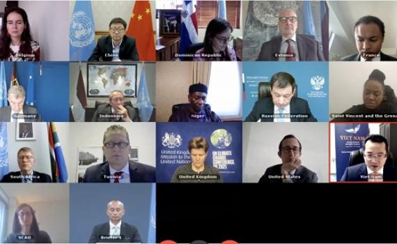 Việt Nam dự phiên họp trực tuyến của HĐBA về tình hình Trung Đông