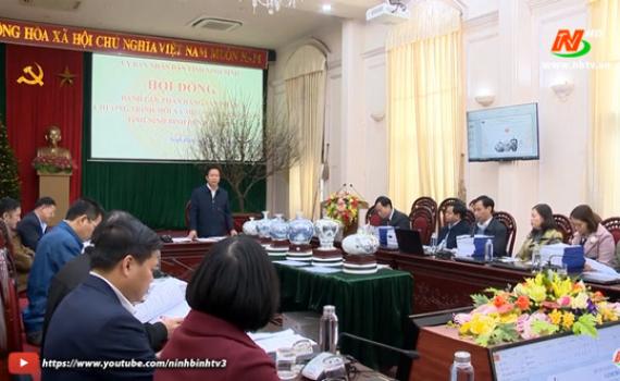 Đánh giá, phân hạng sản phẩm OCOP tỉnh Ninh Bình