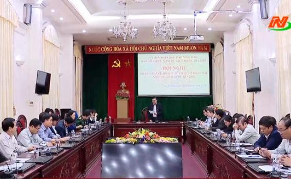 Hội nghị triển khai kế hoạch tổ chức Lễ khai mạc Năm Du lịch Quốc gia 2020