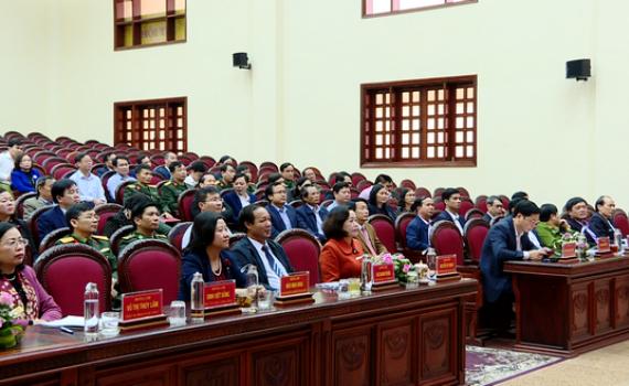 Hội nghị trực tuyến toàn quốc triển khai nhiệm vụ công tác ngành Nội chính Đảng năm 2020