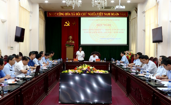 Triển khai nhiệm vụ trọng tâm tổ chức Năm Du lịch Quốc gia 2020 - Ninh Bình