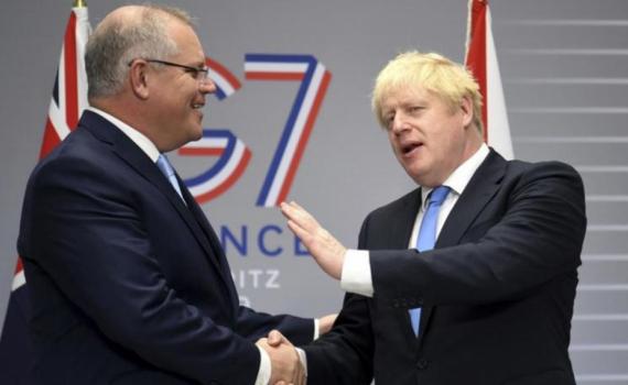 Anh tổ chức hội nghị thượng đỉnh trực tiếp G7 vào tháng 6