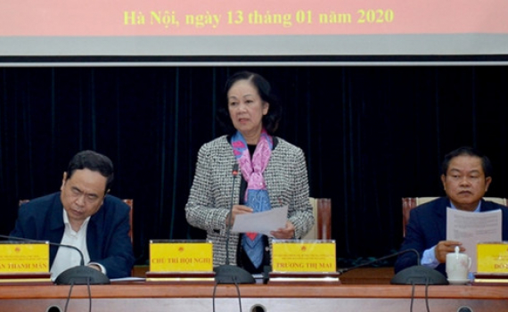 Bà Trương Thị Mai: Cần nắm chắc tình hình nhân dân