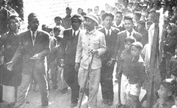Bác Hồ về thăm làng Bưởi, ngày bầu cử Quốc hội đầu tiên