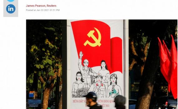 """Báo chí quốc tế """"giải mã"""" niềm tin của người dân Việt Nam với Đảng"""
