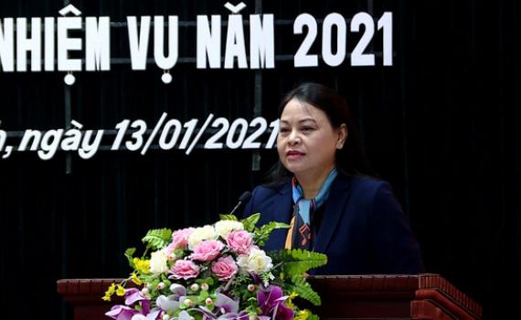 Đồng chí Bí thư Tỉnh ủy dự hội nghị triển khai nhiệm vụ công tác dân vận năm 2021