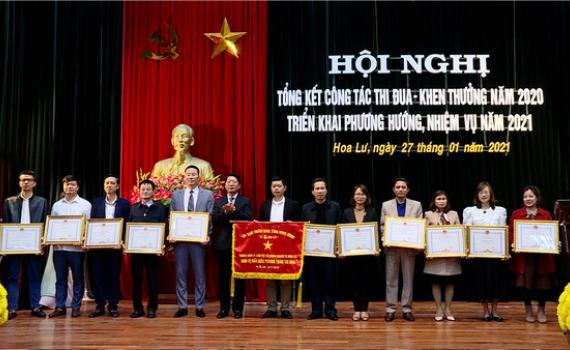 Hoa Lư, Yên Mô triển khai công tác Thi đua - Khen thưởng năm 2021