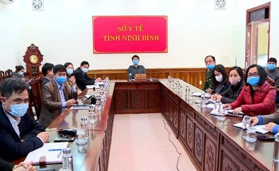 Hội nghị trực tuyến phòng chống dịch Covid-19
