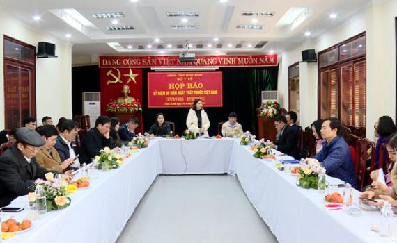 Họp báo tuyên truyền kỷ niệm 66 năm ngày Thầy thuốc Việt Nam