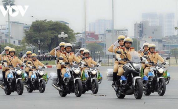 """Lực lượng công an thiết lập trạng thái """"sẵn sàng mới"""" bảo vệ Đại hội Đảng XIII"""