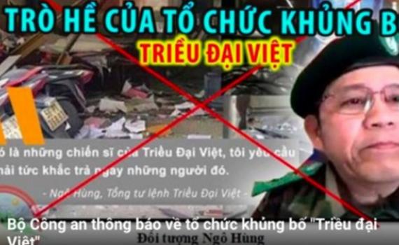 """Tổ chức khủng bố """"Triều đại Việt"""" đã gửi tiền về nước để mua vũ khí, in truyền đơn"""