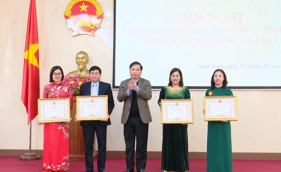 Văn phòng UBND tỉnh triển khai nhiệm vụ công tác năm 2021