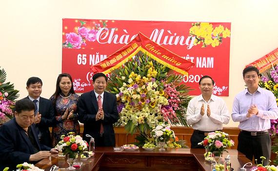 Đồng chí Trần Hồng Quảng thăm, chúc mừng nhân ngày Thầy thuốc Việt Nam