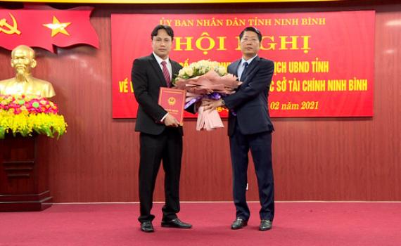 Công bố quyết định bổ nhiệm Phó Giám đốc Sở Tài chính