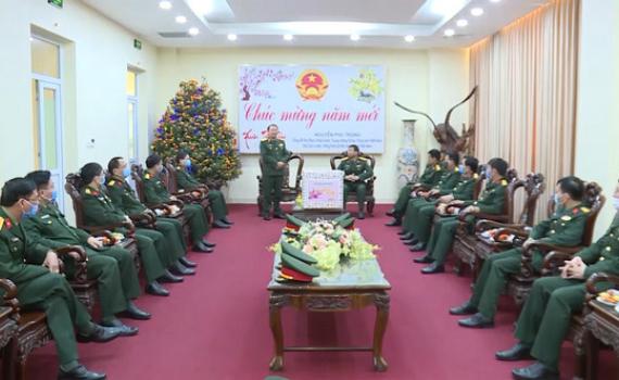 Bộ Tư lệnh Quân khu 3 kiểm tra công tác sẵn sàng chiến đấu tại Bộ CHQS tỉnh