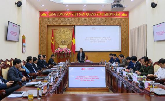 BTV Tỉnh ủy làm việc với Lãnh đạo Công ty CP Tập đoàn Thành Công