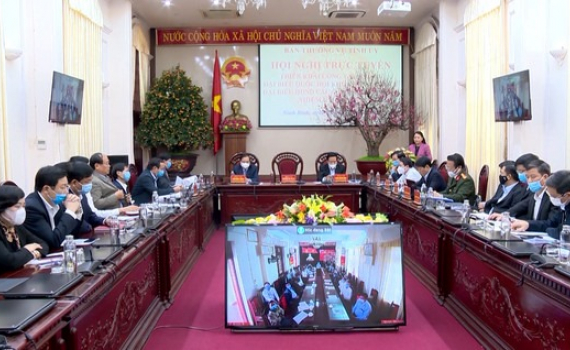 BTV Tỉnh ủy triển khai công tác bầu cử ĐBQH và đại biểu HĐND các cấp