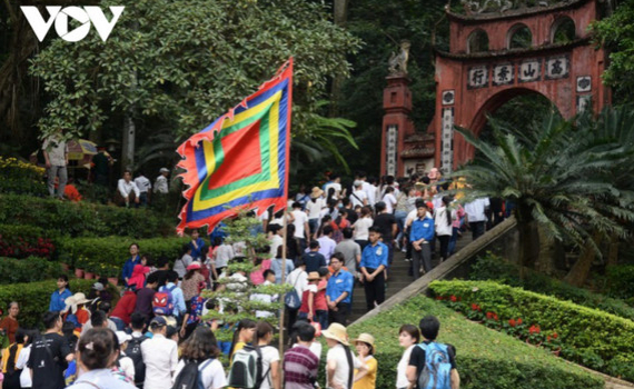 Giỗ Tổ Hùng Vương 2021 chỉ tổ chức phần lễ