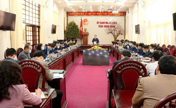 Hội nghị BCĐ phòng chống dịch bệnh COVID-19 tỉnh Ninh Bình