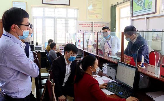 Kiểm tra hoạt động của bộ phận một cửa tại Hoa Lư và Kim Sơn