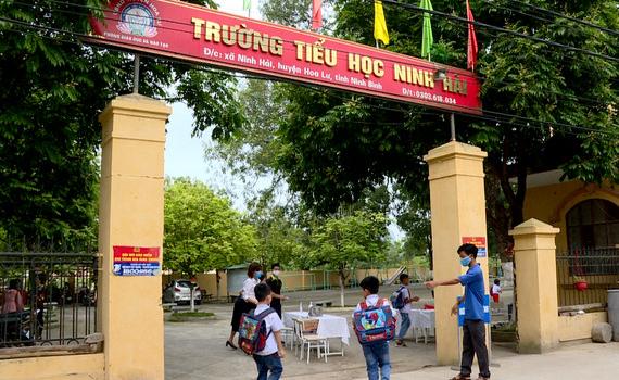 Ninh Bình: Học sinh phổ thông đi học trở lại vào ngày 22/2
