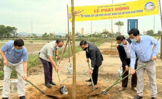 Sở Giao thông Vận tải phát động Tết trồng cây
