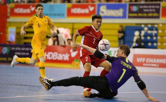 Chốt ngày ĐT Futsal Việt Nam bắt đầu hành trình chinh phục World Cup