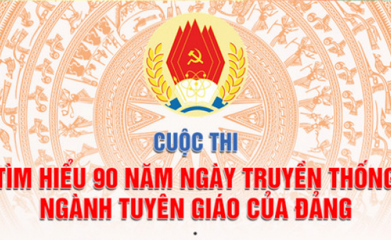 Cuộc thi tìm hiểu 90 năm ngày truyền thống ngành Tuyên giáo của Đảng