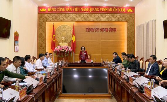 Thường trực Tỉnh ủy triển khai nhiệm vụ công tác tháng 3/2020