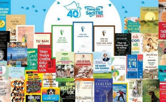 """136 tựa sách mới và gần 1.000 tựa tái bản cho """"Tháng ba sách trẻ"""" 2021"""