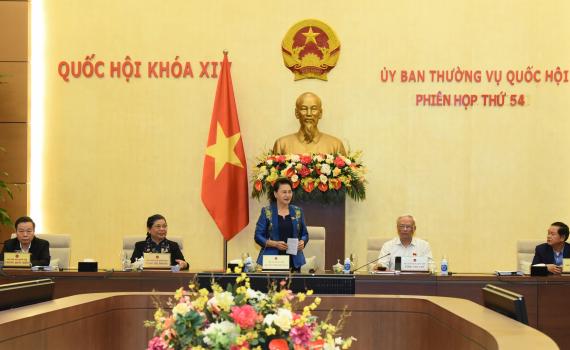 Bế mạc Phiên họp thứ 54 của Ủy ban Thường vụ Quốc hội