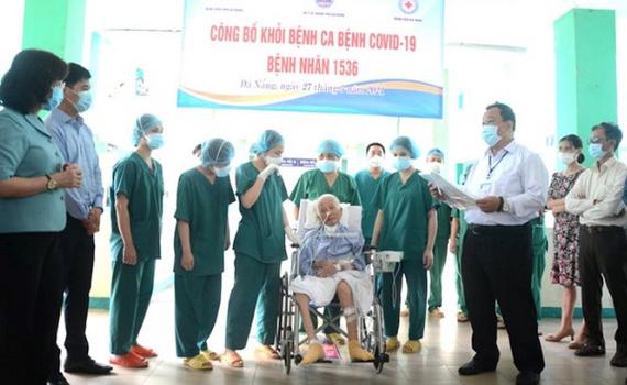 Bệnh nhân COVID-19 nặng nhất nước đã khỏi bệnh