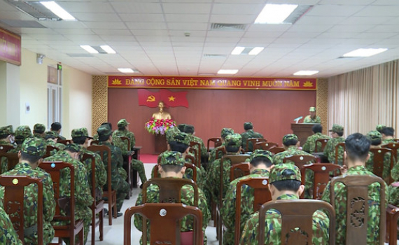 Bộ CHQS tỉnh rút kinh nghiệm luyện tập chuyển trạng thái sẵn sàng chiến đấu
