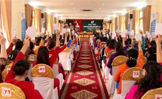 Đại hội đại biểu phụ nữ phường Thanh Bình nhiệm kỳ 2021 – 2026