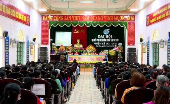 Đại hội đại biểu phụ nữ xã Đồng Phong