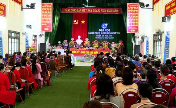 Đại hội đại biểu phụ nữ xã Ninh Hải