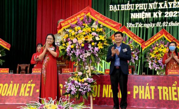 Đại hội đại biểu Phụ nữ xã Yên Từ lần thứ XI, nhiệm kỳ 2021-2026
