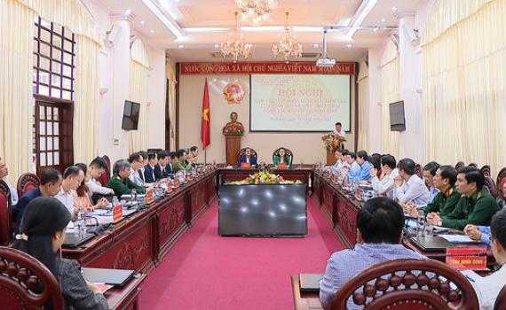 Đoàn giám sát, kiểm tra của Ủy ban Thường vụ Quốc hội làm việc tại Ninh Bình