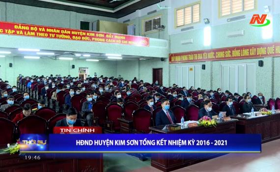 HĐND huyện Kim Sơn tổng kết hoạt động nhiệm kỳ 2016-2021