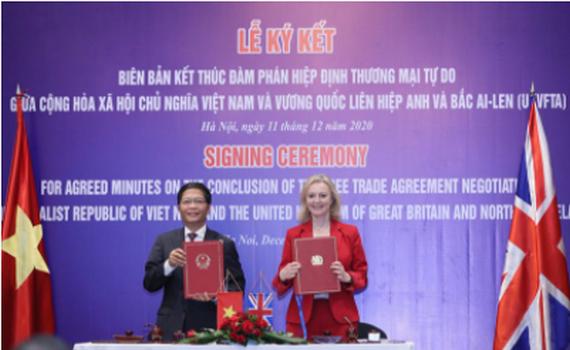 Hiệp định UKVFTA sẽ có hiệu lực từ 1/5