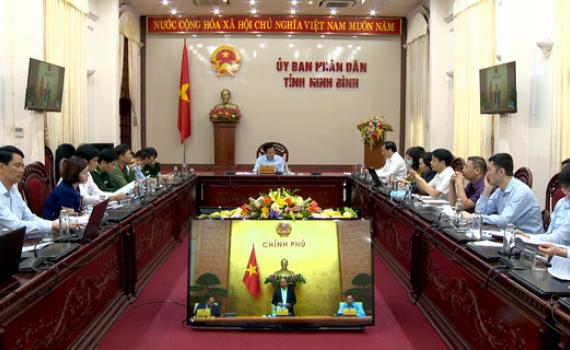 Hội nghị trực tuyến toàn quốc về phòng, chống dịch Covid-19