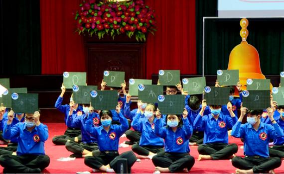 """Huyện đoàn Gia Viễn tổ chức Cuộc thi """"Rung chuông vàng"""""""