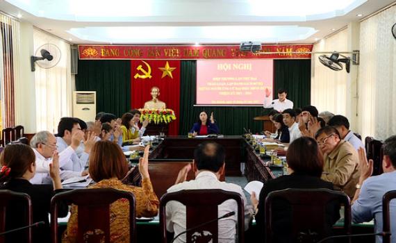 Huyện Yên Khánh tổ chức Hội nghị hiệp thương lần thứ hai